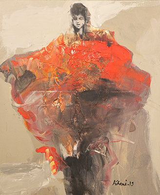 Khaled ALKHANI – GALERIE CLAUDINE LEGRAND