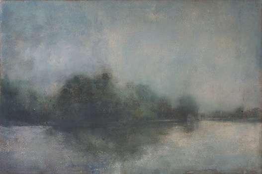 Galerie claudine Legrand - Yves CRENN - La Seine