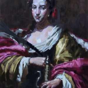 Sainte Catherine d'après Simon Vouet
