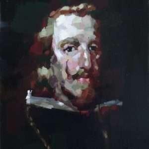 Philippe IV d'après Velazquez